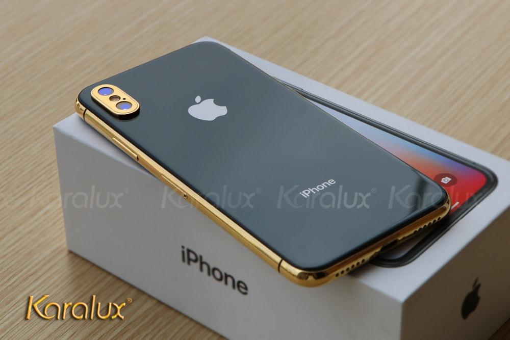 Karalux ra mắt điện thoại iPhone X mạ vàng đầu tiên tại Việt Nam