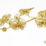 Hoa lan mạ vàng Phú Quý (5 bông) 4