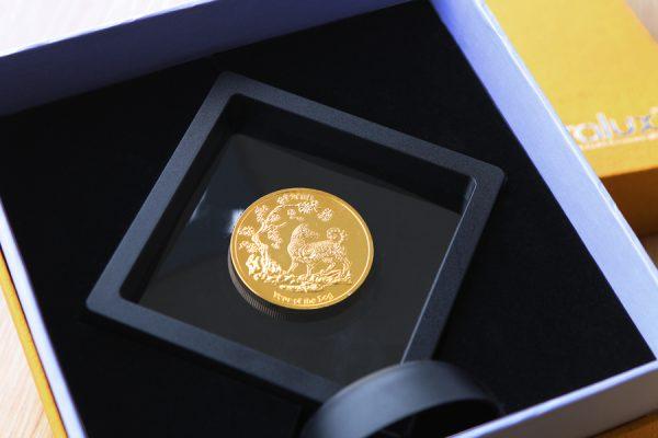 Đồng Lộc Kim Vàng năm Mậu Tuất 1