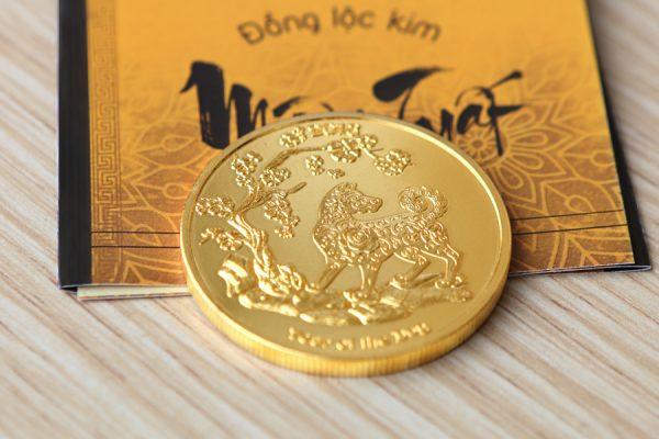 Đồng Lộc Kim Vàng năm Mậu Tuất 4