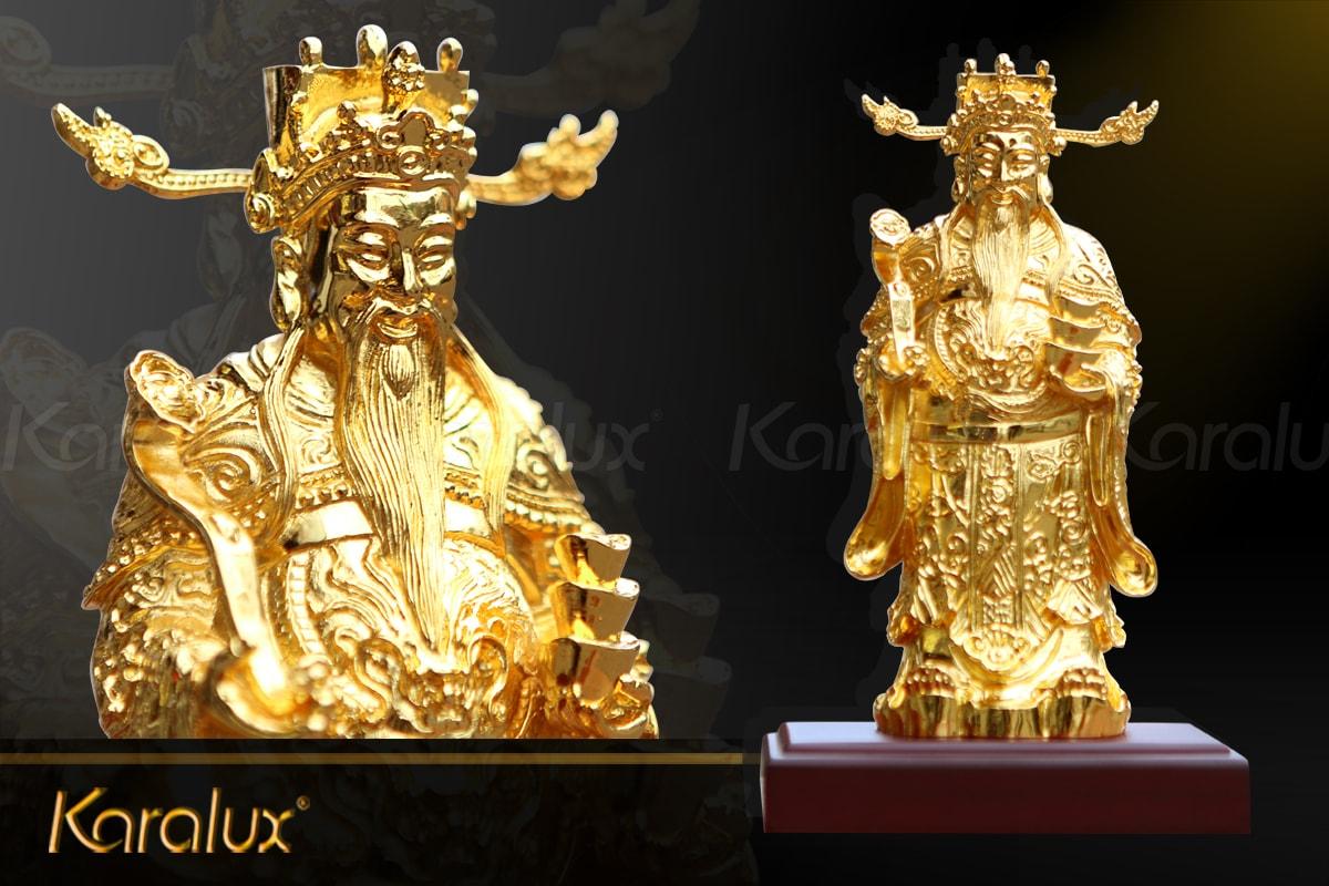 Tượng Thần Tài mạ vàng (Lớn)