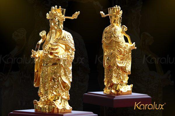 Tượng thần tài mạ vàng 3