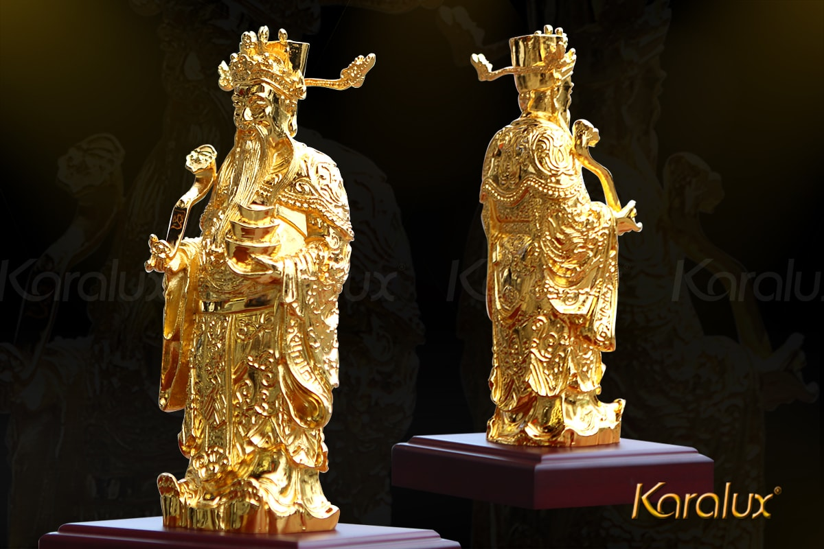 Tượng thần tài mạ vàng 15