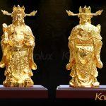 Tượng thần tài mạ vàng 10
