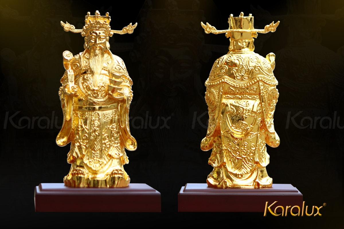 Tượng thần tài mạ vàng 17