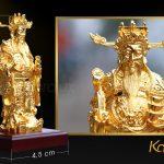 Tượng thần tài mạ vàng 12