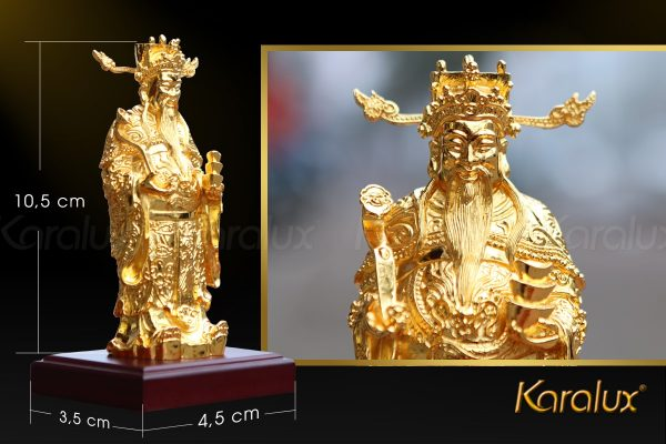 Tượng thần tài mạ vàng 5