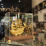 Mô hình Thuận buồm xuôi gió mạ vàng 4