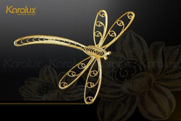 Tranh hoa sen phong thủy mạ vàng 4