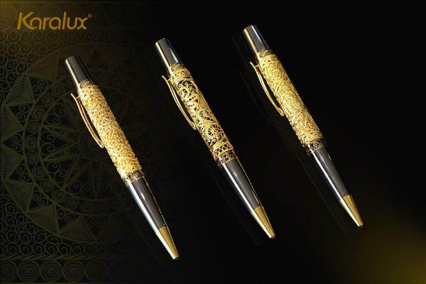 Bút ký cao cấp mạ vàng Karalux 2