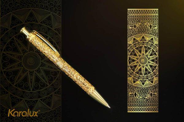 Bút ký cao cấp mạ vàng Karalux 4