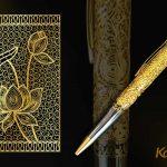 Bút ký cao cấp mạ vàng Karalux 15