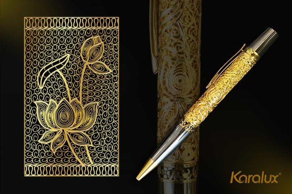 Bút ký cao cấp mạ vàng Karalux 5