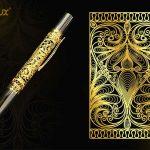 Bút ký cao cấp mạ vàng Karalux 17