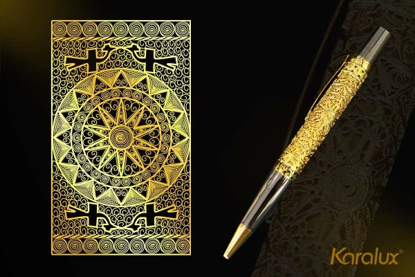 Bút ký cao cấp mạ vàng Karalux 1