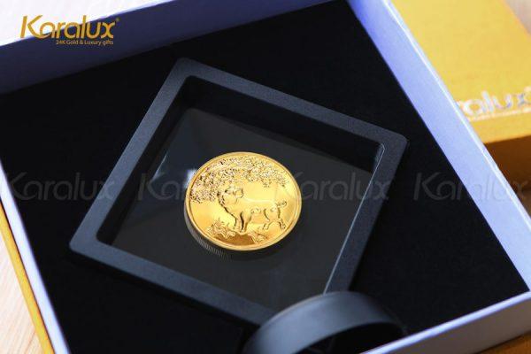 Đồng lộc kim Kỷ Hợi với phiên bản đế nhựa với giá thấp hơn 400.000đ