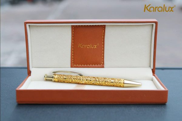 Bút ký cao cấp mạ vàng Karalux 7