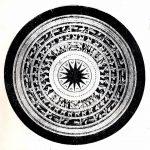 Nguyên bản mặt đồng Ngọc Lũ 1- một loại trống đồng Đông Sơn (Nguồn: Wikipedia)