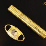 Bộ phụ kiện xì gà mạ vàng 7