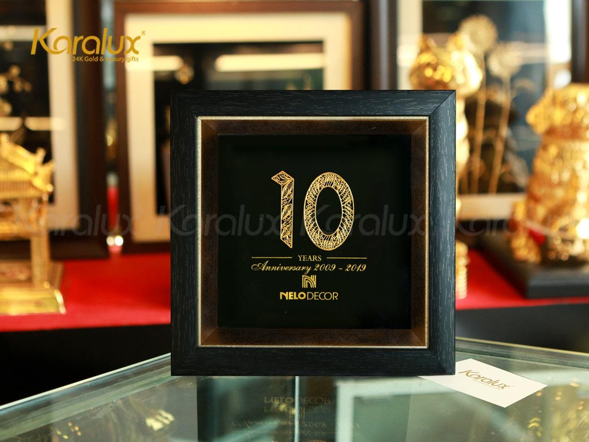 Quà tặng kỷ niệm 10 năm thành lập công ty NELO DECOR 1