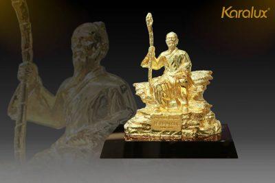 Tranh Khuê Văn Các mạ vàng phiên bản để bàn 30