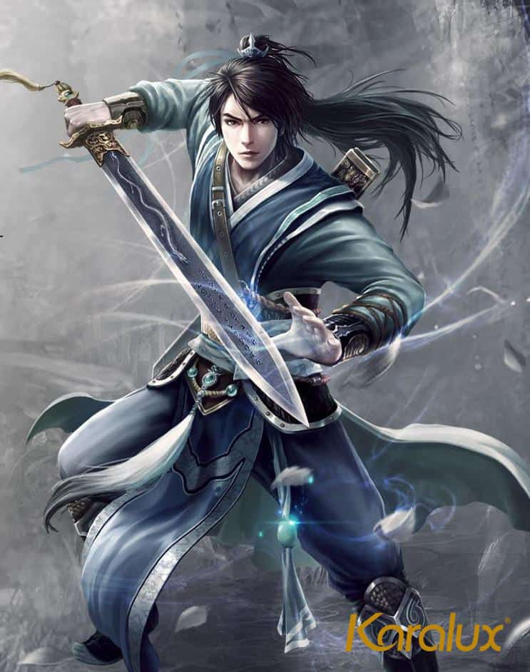 Ảnh vẽ nhân vật game được lựa chọn làm quà tặng game thủ Ngự Kiếm Mobile