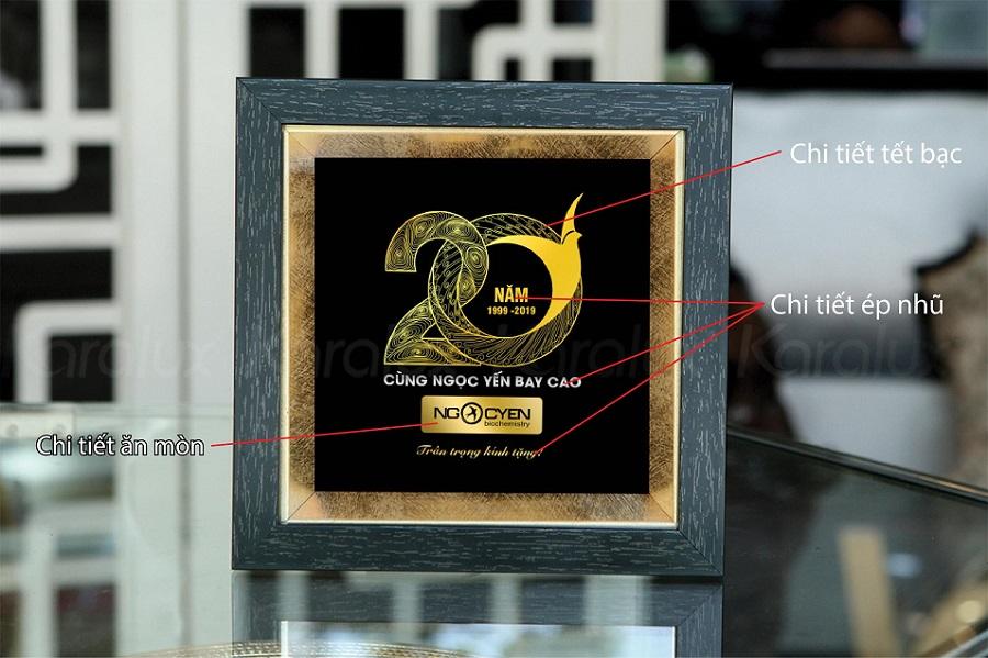 Tranh kỷ niệm 20 năm thành lập Ngọc Yến 2