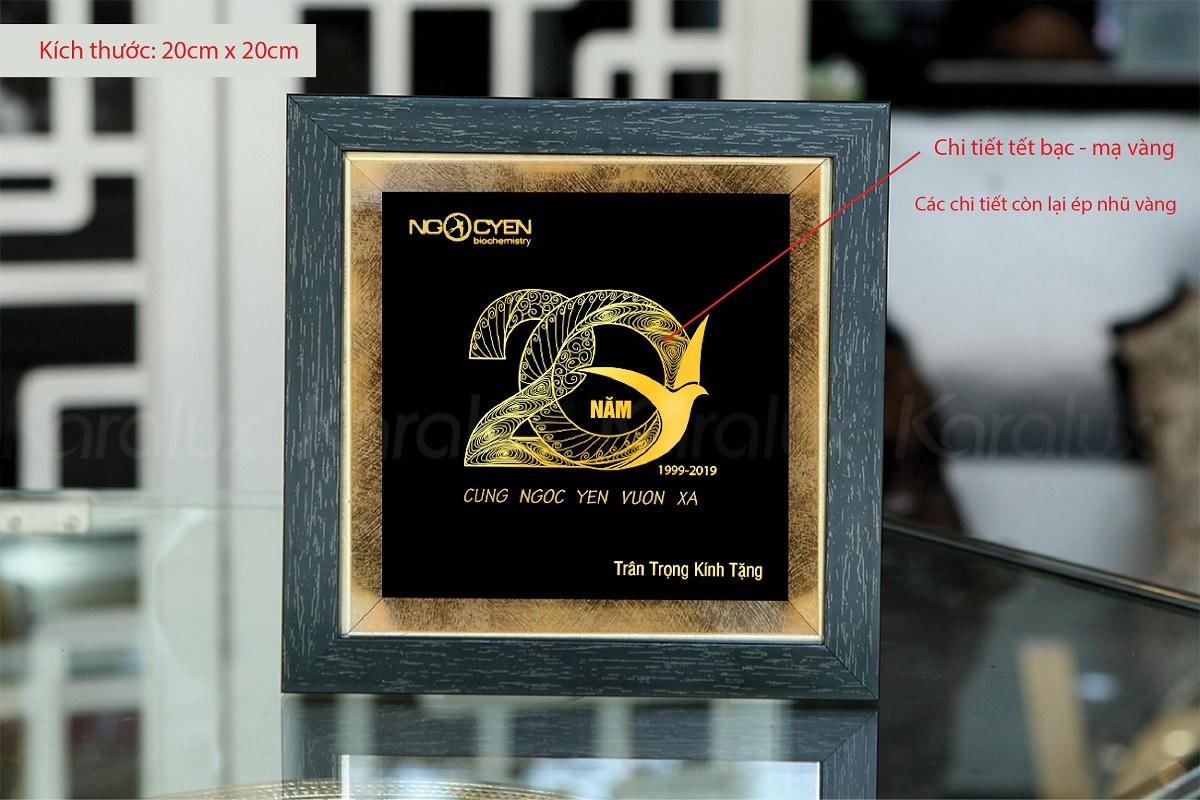 Tranh kỷ niệm 20 năm thành lập Ngọc Yến 3